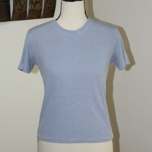 Brandy Melville, striped  short sleeve shirt.   C5